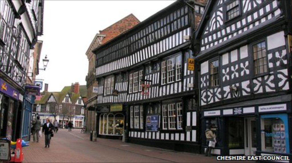 Martin Amp Co Nantwich 4 Bedroom Town House To Rent In