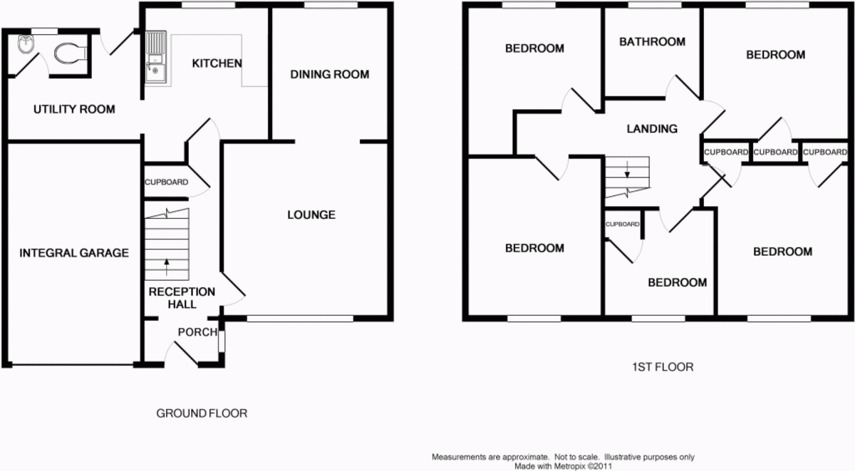 Detached house floor plan home design and style for Semi detached floor plans