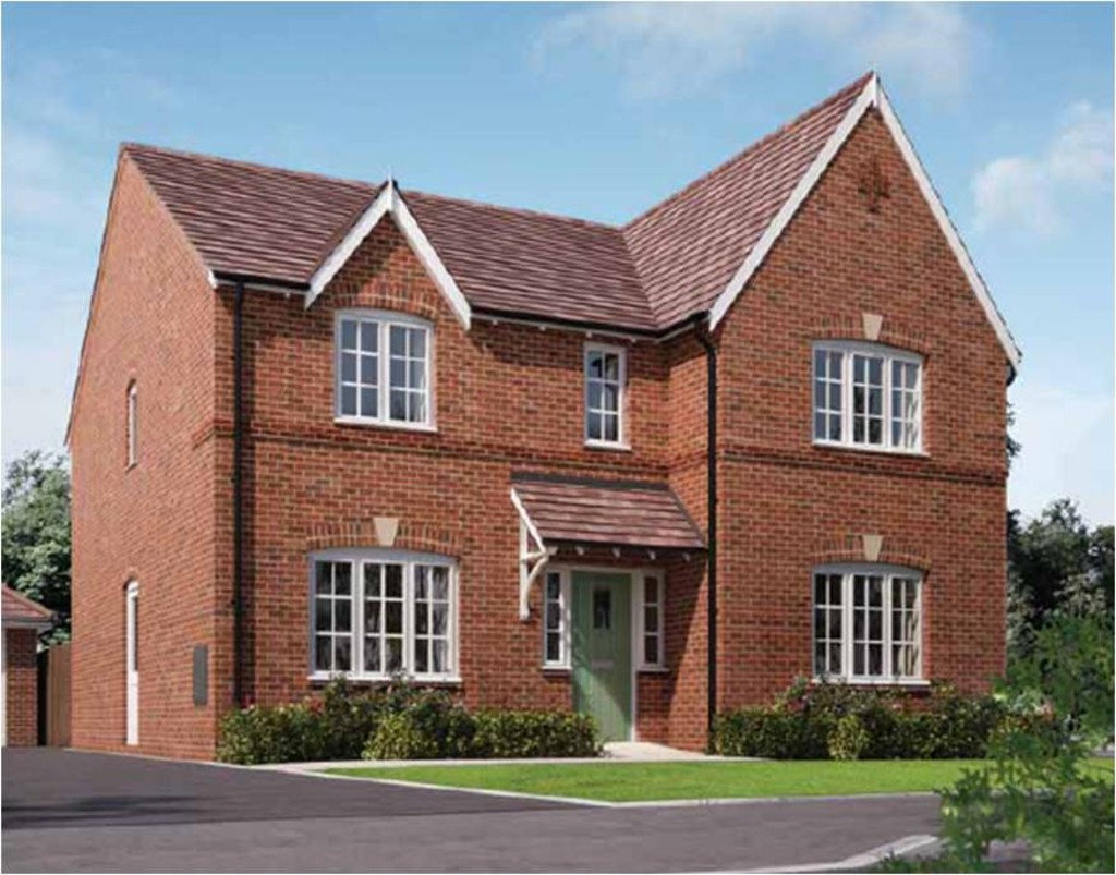 Image gallery detached house for 4 bed new build house