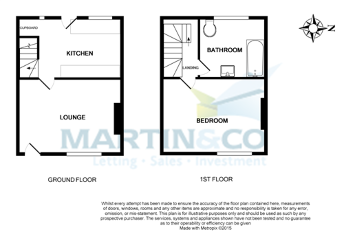 Martin Amp Co Saltaire 1 Bedroom Terraced House Let In