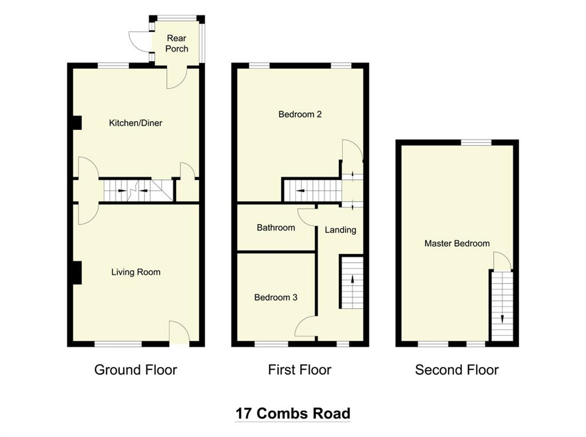 Whitegates Dewsbury 3 Bedroom House For Sale In 17 Combs