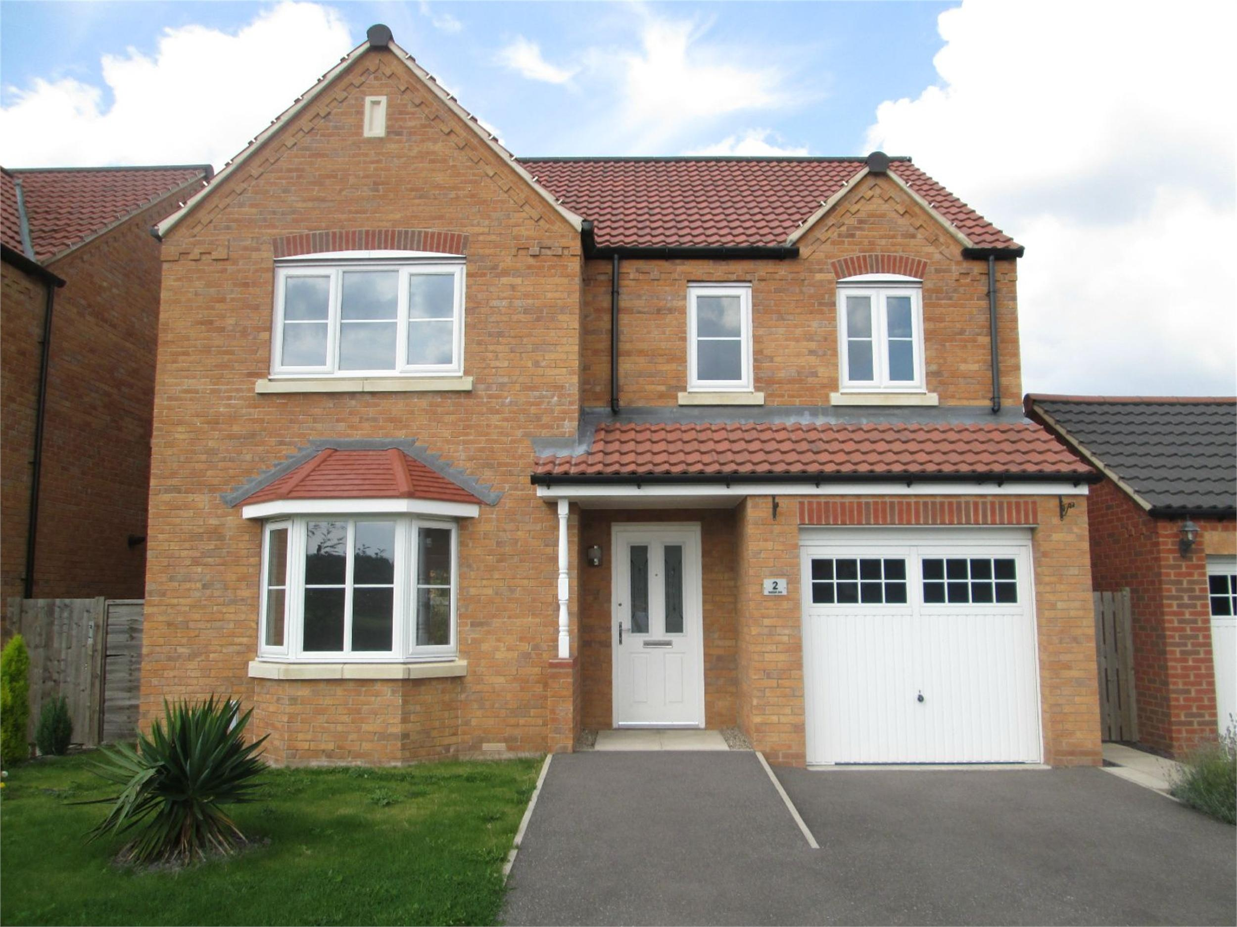 What does detached house 28 images 3 bed semi detached for New build 2 bedroom house