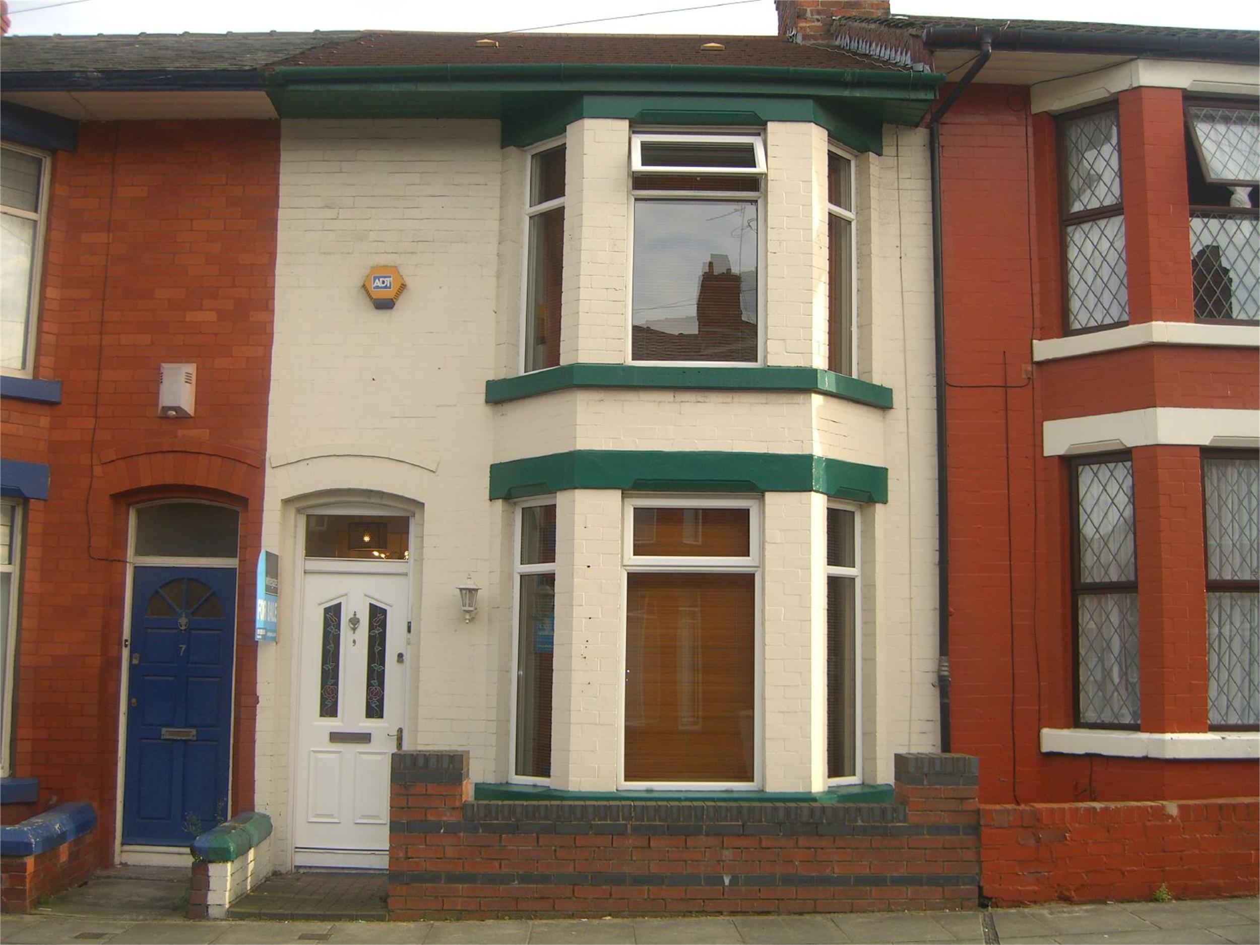 Whitegates Walton Vale 3 Bedroom Terraced House For Sale