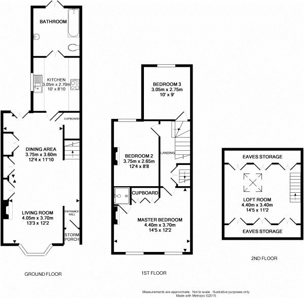 3 Bedroom Terraced House Plan Home Plans Ideas