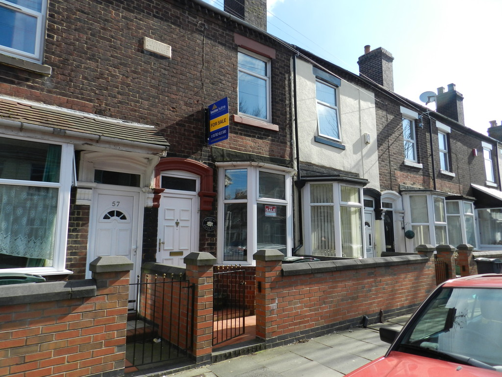 2 Bedrooms Terraced House for sale in Campbell Road Stoke ST4