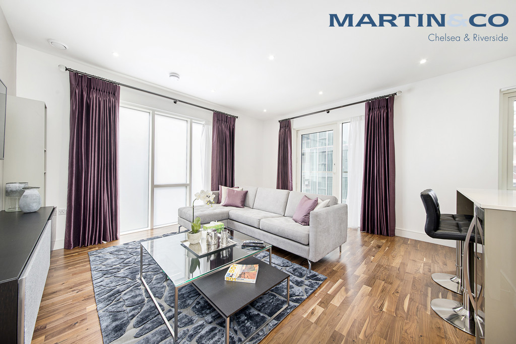 2 Bedrooms Apartment Flat for sale in Trafalgar House, Battersea Reach SW18