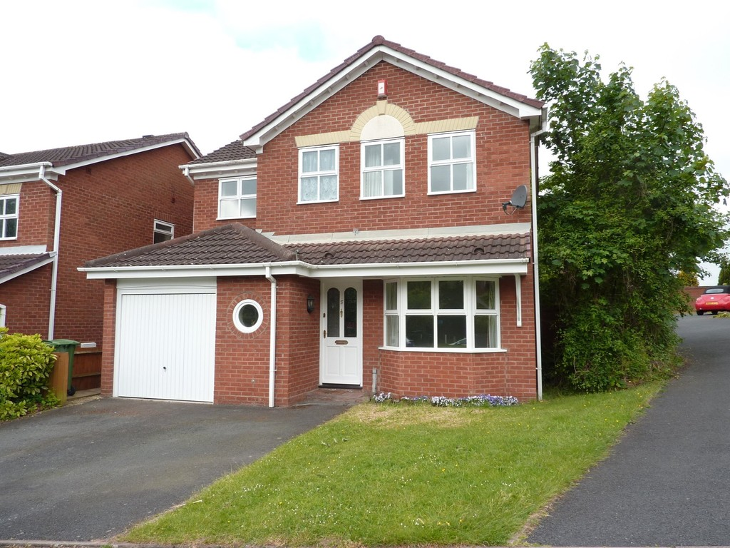 4 Bedrooms Detached House for sale in Hemsworth Way, Shrewsbury SY1