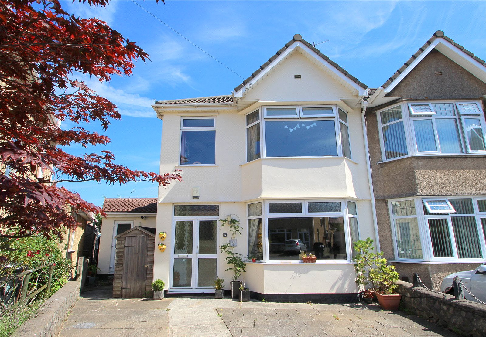 3 Bedrooms Semi Detached House for sale in Stella Grove Ashton Bristol BS3