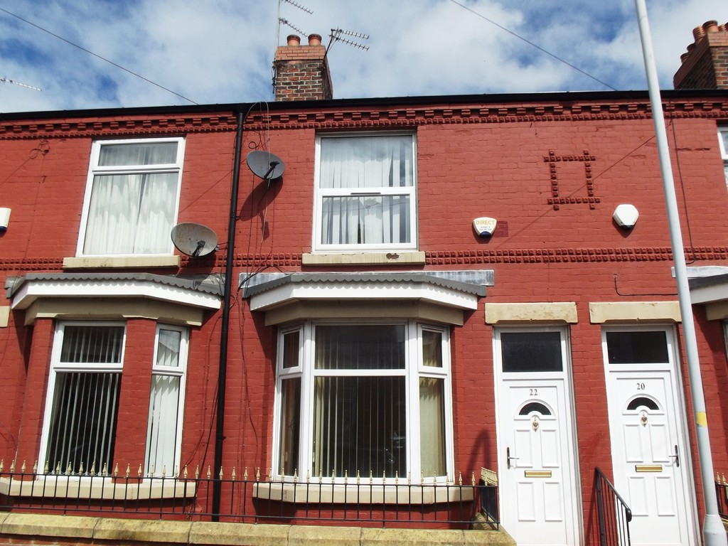 2 Bedrooms Terraced House for rent in Upper Brassey Street, Birkenhead CH41
