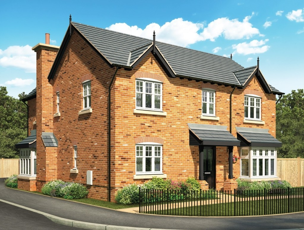 4 Bedrooms Detached House for sale in Manor Green, Holmes Chapel CW4