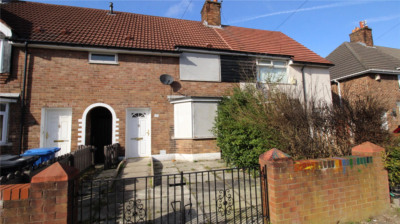 Whitegates Huyton 2 Bedroom House Sstc In Radway Road