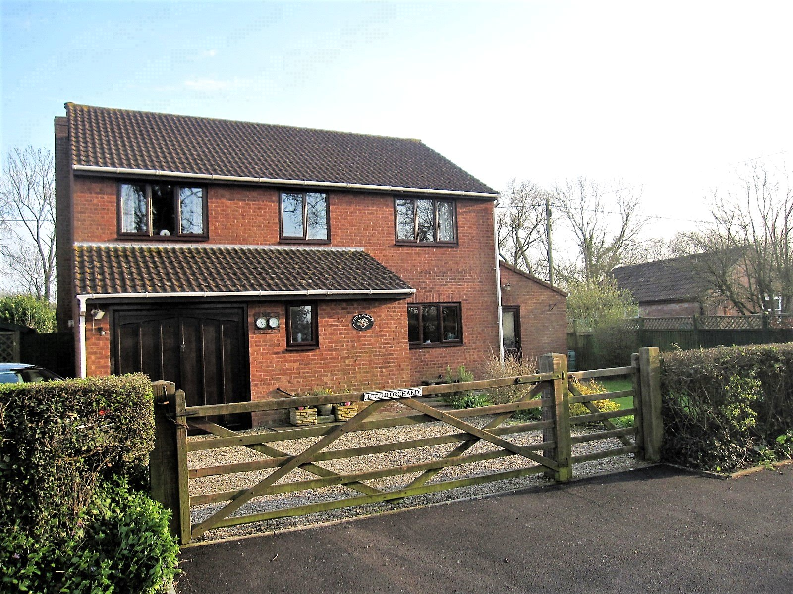 4 Bedrooms Detached House for sale in Chapel Road Rooksbridge Axbridge BS26