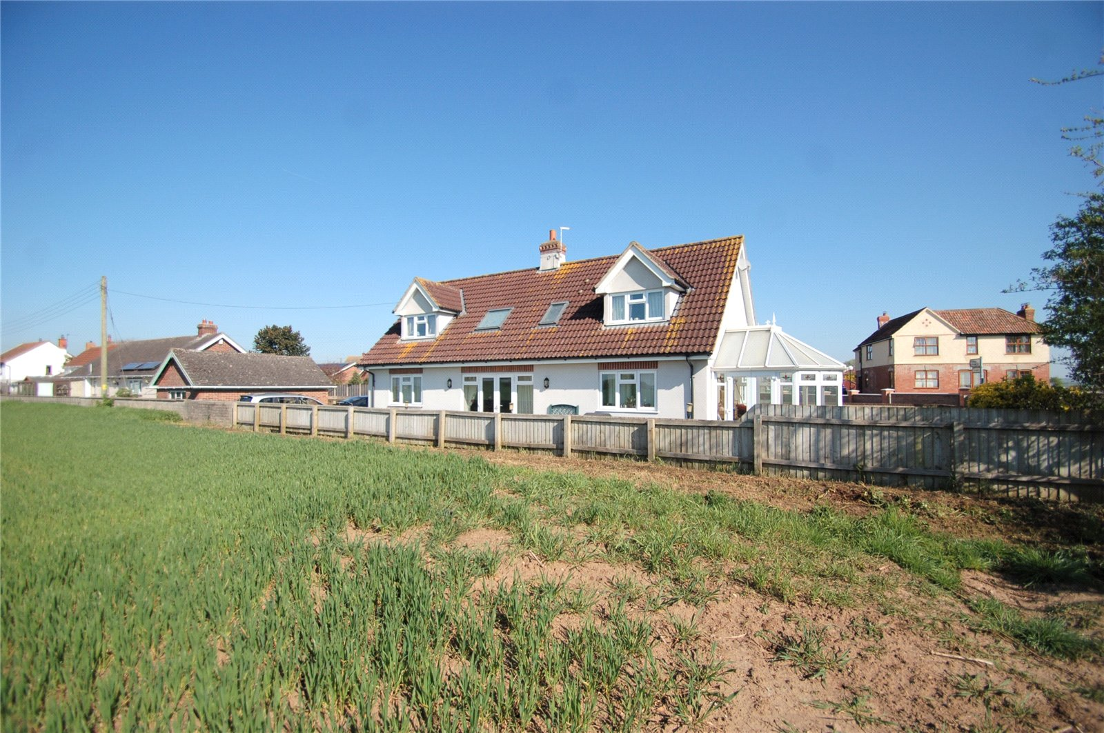 4 Bedrooms Detached House for sale in Main Road WESTONZOYLAND Bridgwater TA7