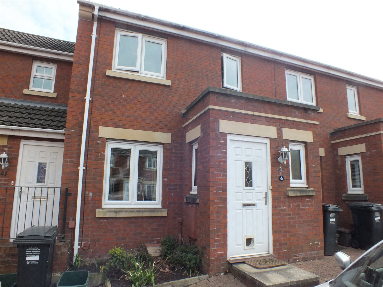 2 Bedrooms Terraced House for sale in Ankatel Close Weston-Super-Mare North Somerset BS23