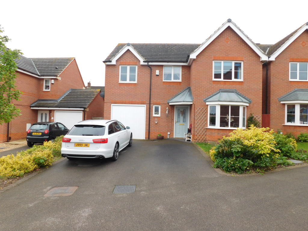 4 Bedrooms Detached House for sale in Portland Way, Kings Clipstone, Mansfield NG21