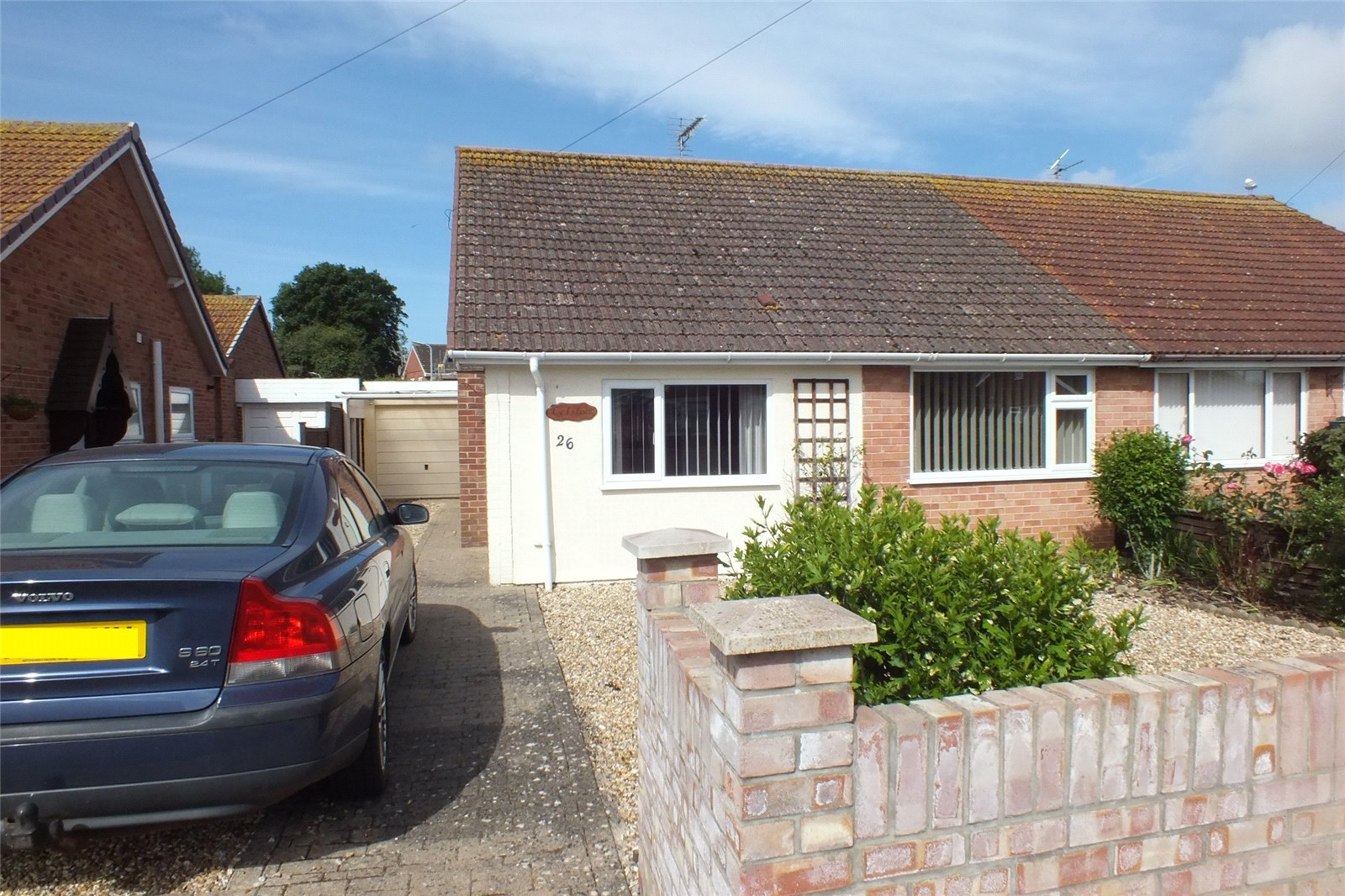 3 Bedrooms Bungalow for sale in Apex Drive Highbridge Somerset TA9