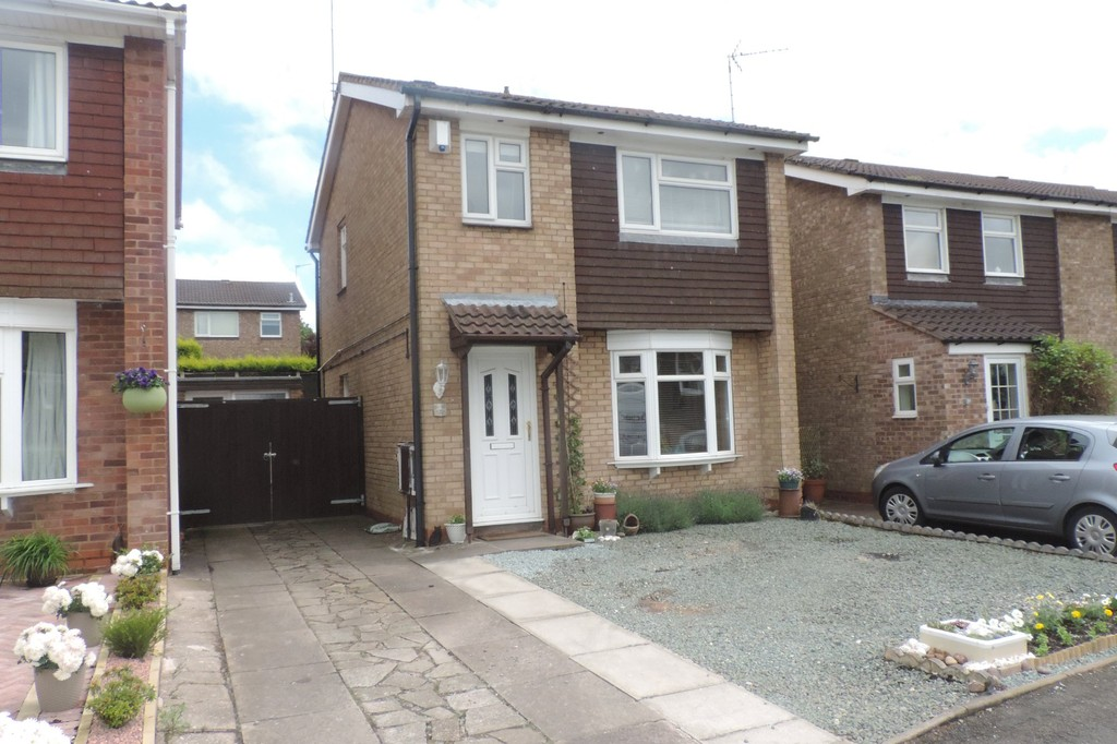 3 Bedrooms Detached House for sale in Danta Way, Baswich, Stafford ST17