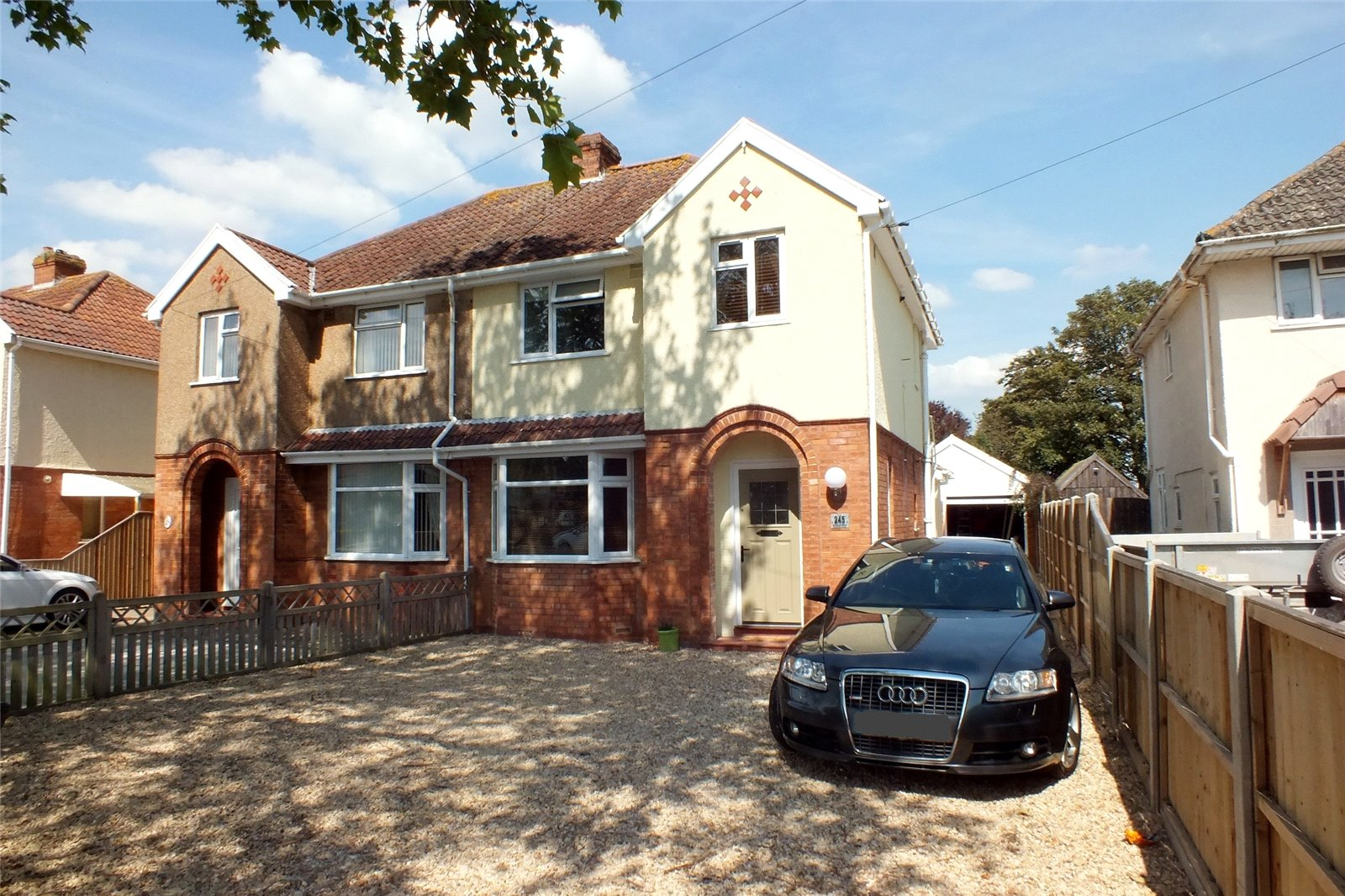 3 Bedrooms Semi Detached House for sale in Burnham Road Burnham on Sea Somerset TA8