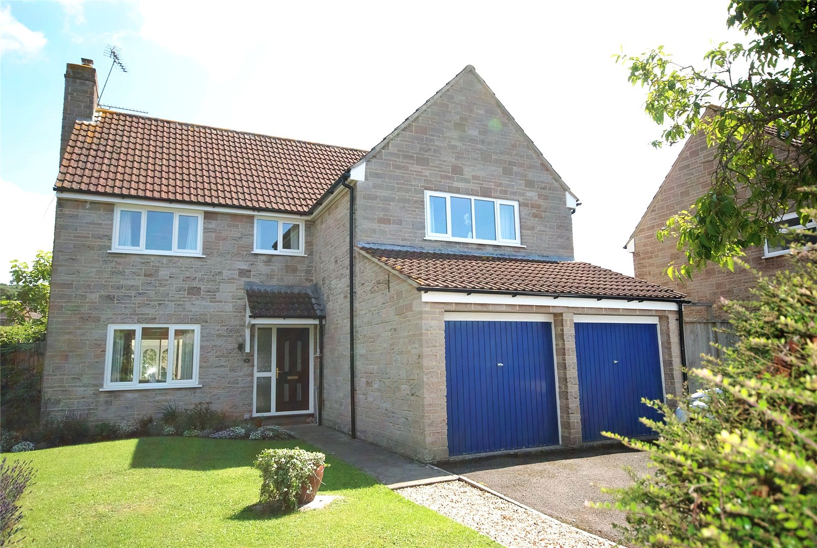 4 Bedrooms Detached House for sale in Bell Close Westbury-Sub-Mendip BA5