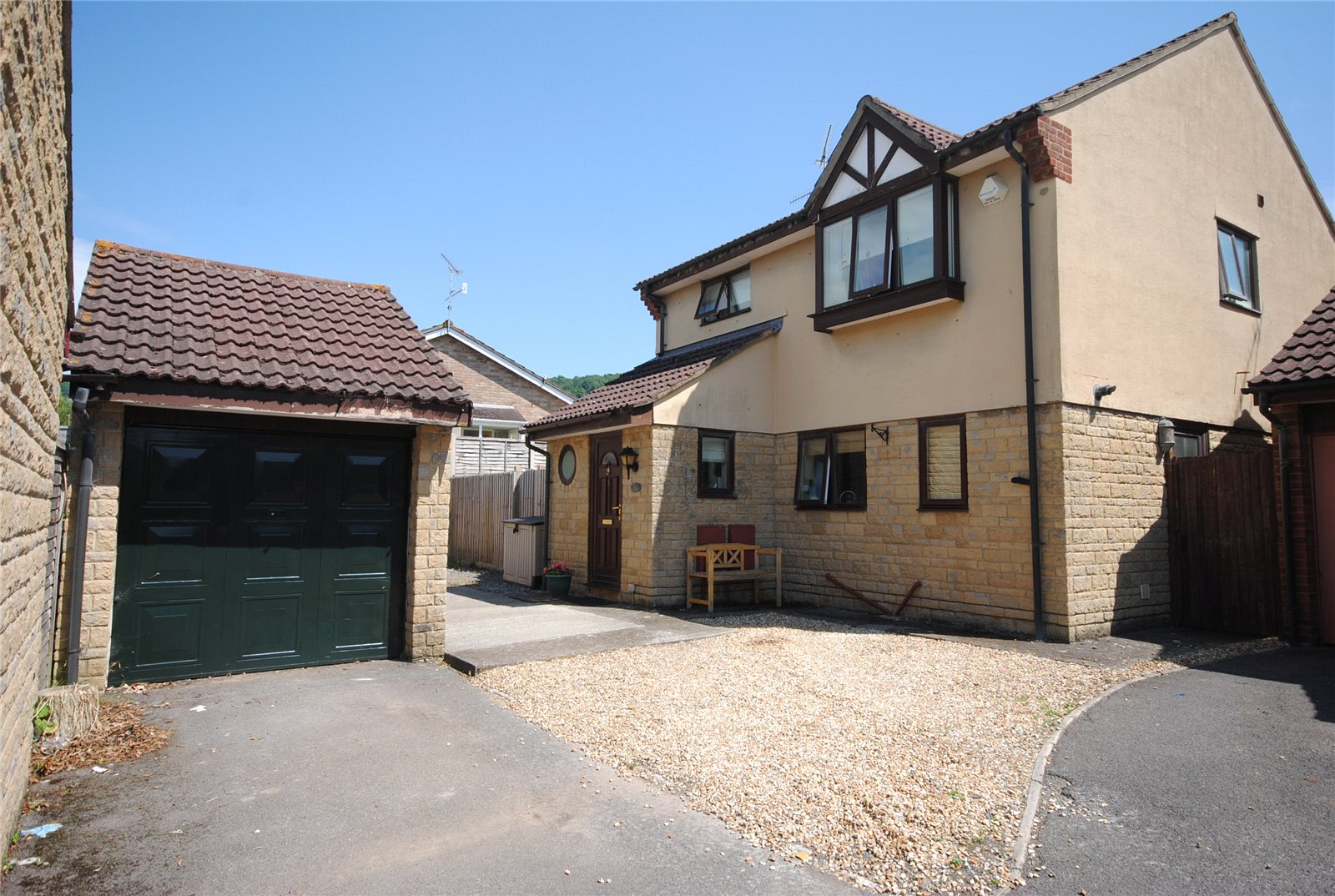 4 Bedrooms Detached House for sale in Little Orchard CHEDDAR Somerset BS27