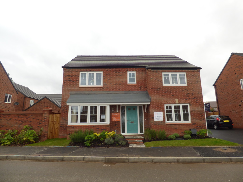 4 Bedrooms Detached House for sale in Coronet Drive, Ibstock LE67