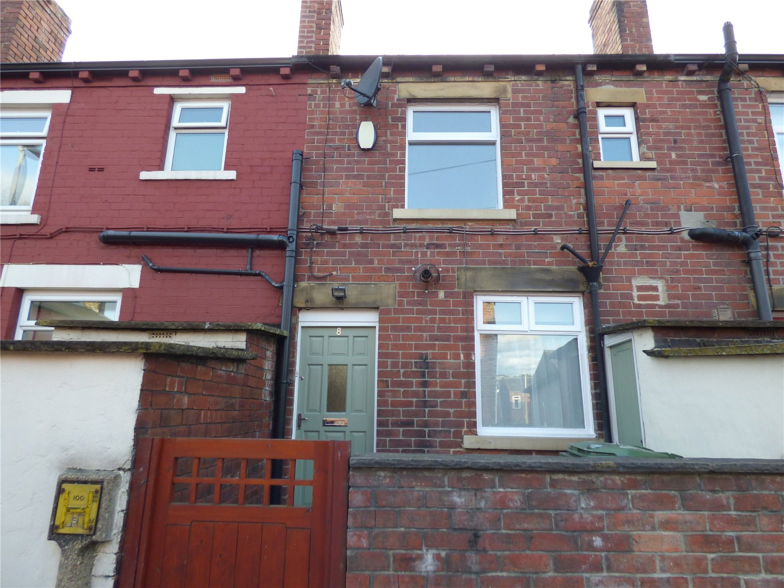 Yorkshire Terrace: Whitegates Cleckheaton 2 Bedroom House Let Agreed In The