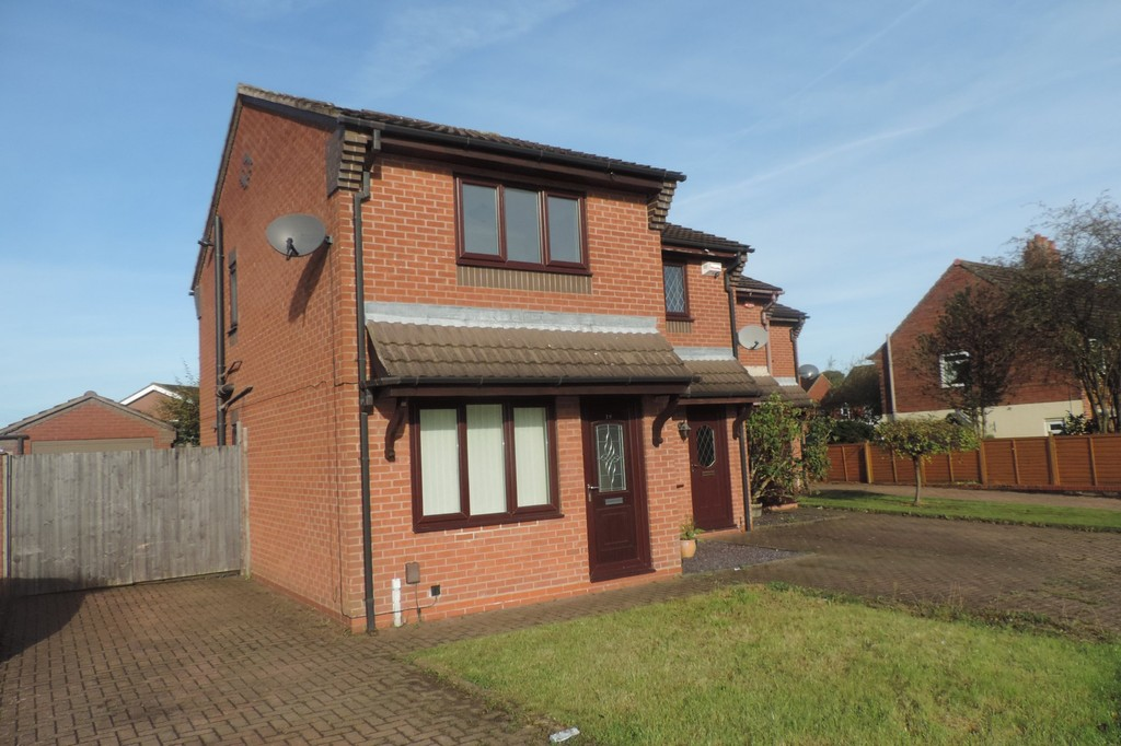 2 Bedrooms Semi Detached House for sale in Corina Court, Meir Hay, Stoke On Trent ST3