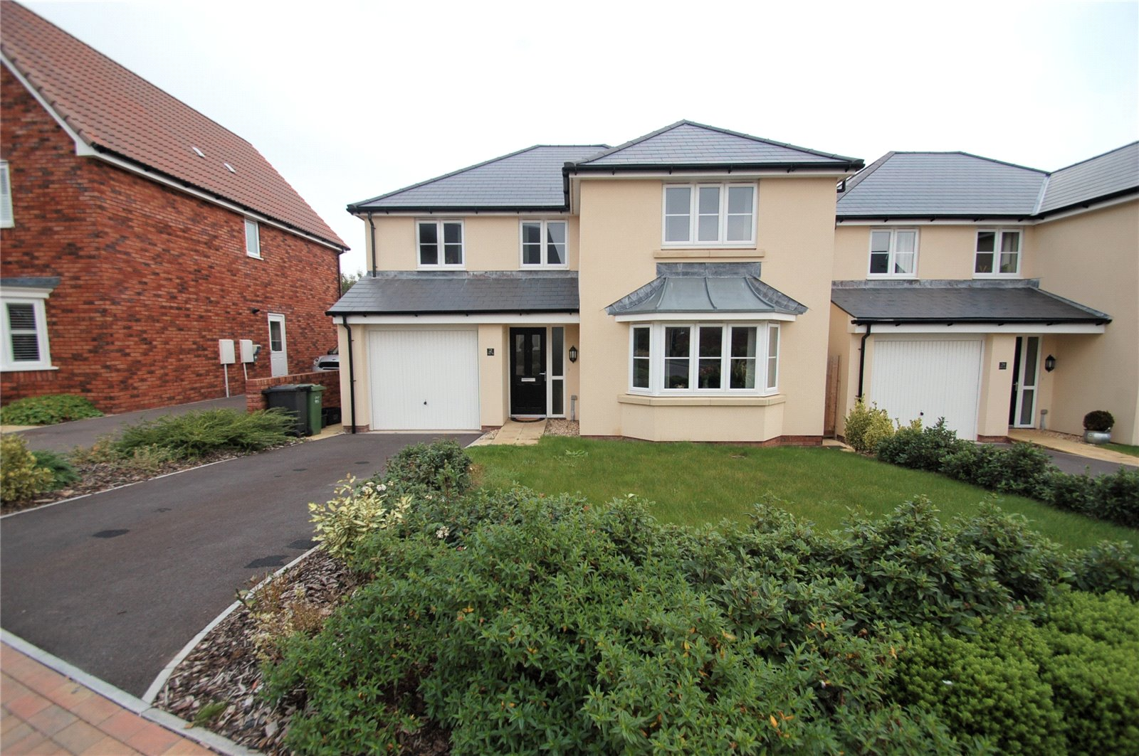 4 Bedrooms Detached House for sale in Cristata Way Willstock Village North Petherton TA5