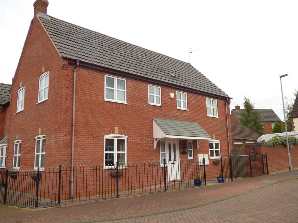 4 Bedrooms Detached House for sale in Hawthorne Road, Bagworth LE67