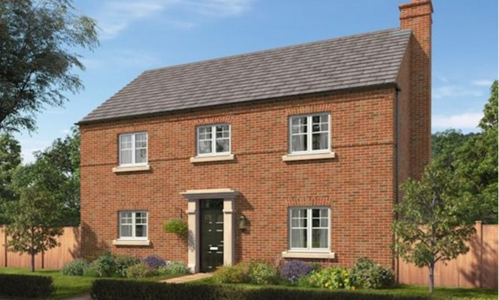 4 Bedrooms Detached House for sale in The Moreton at The Forge, Brades Rise, Oldbury B69