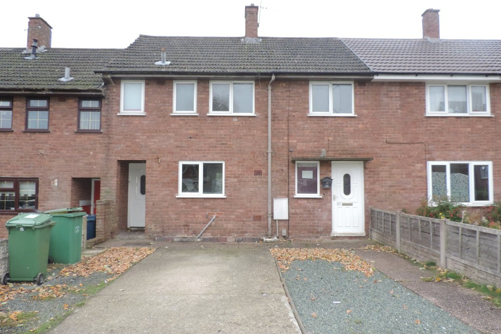 3 Bedrooms Terraced House for sale in Tennyson Road, Stafford, Staffordshire ST17