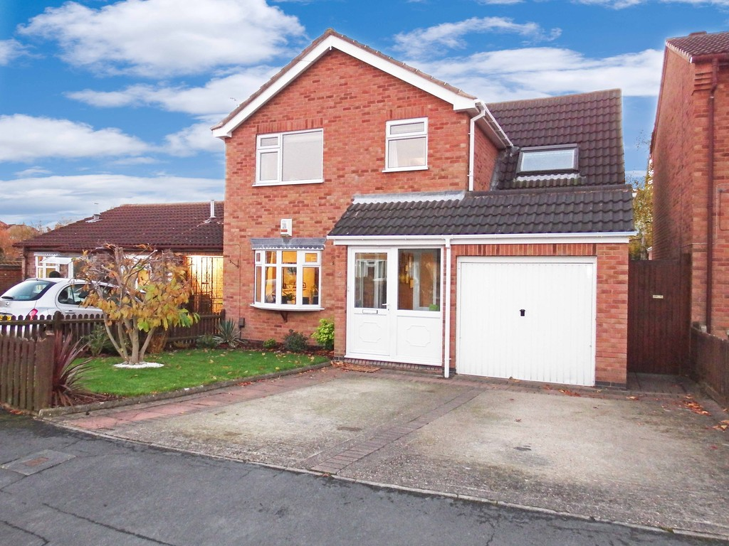 4 Bedrooms Detached House for sale in Cloud Lea, Mountsorrel LE12