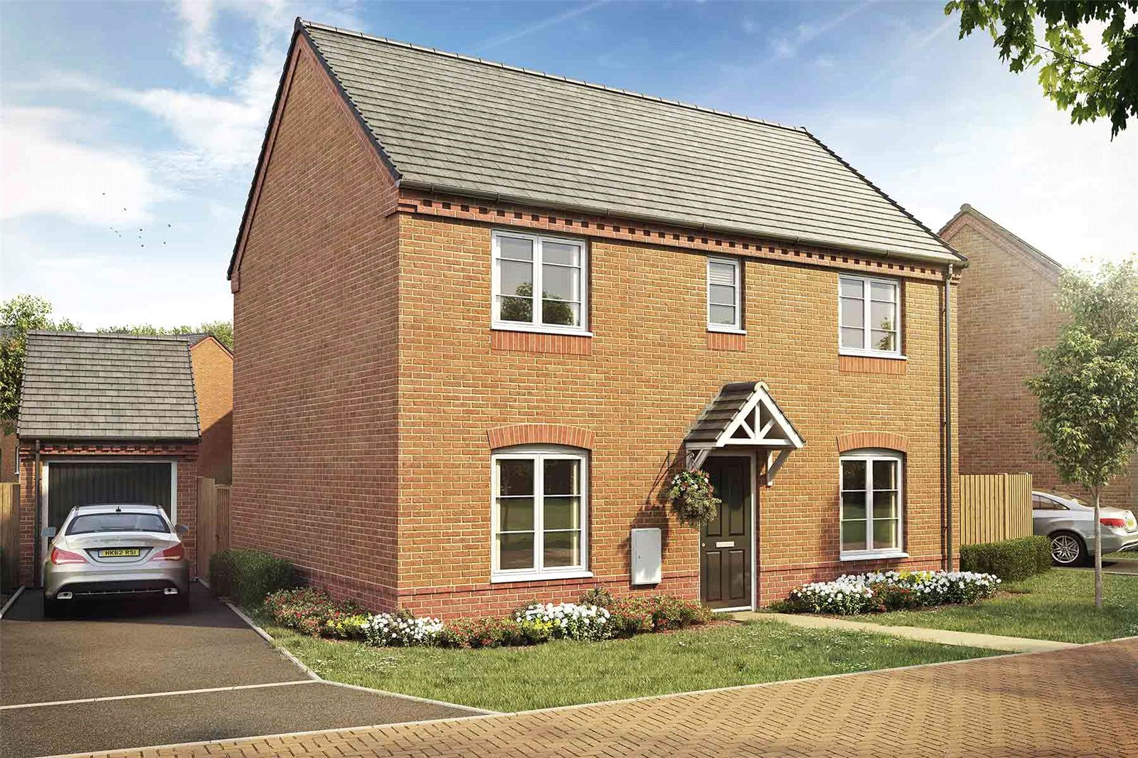 3 Bedrooms Property for sale in Powyke View Powick Worcestershire WR2