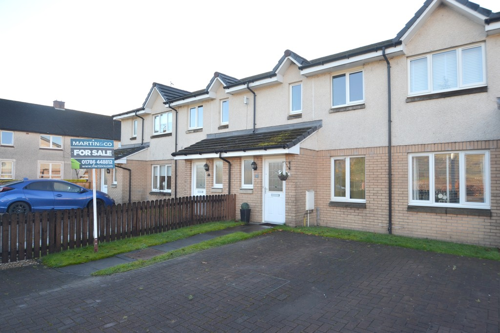 2 Bedrooms Terraced House for sale in Acorn Drive, Tullibody FK10
