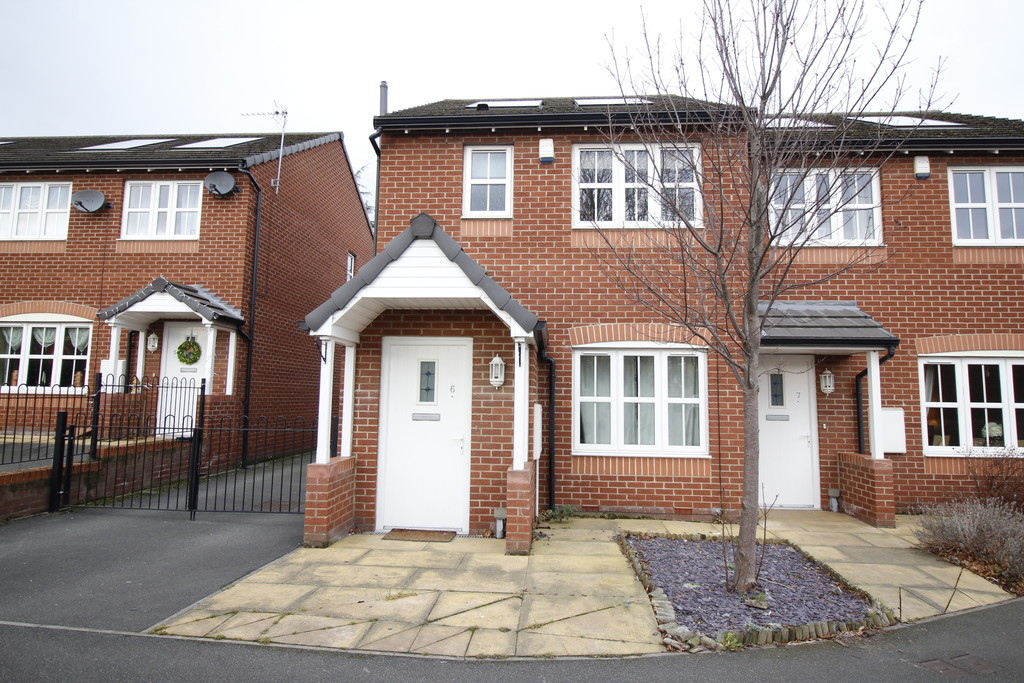2 Bedrooms Semi Detached House for sale in Rosa Court, Baghill, Pontefract WF8