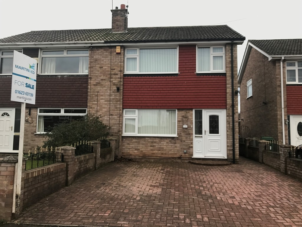 3 Bedrooms Semi Detached House for sale in Abbotts Croft, Mansfield NG19