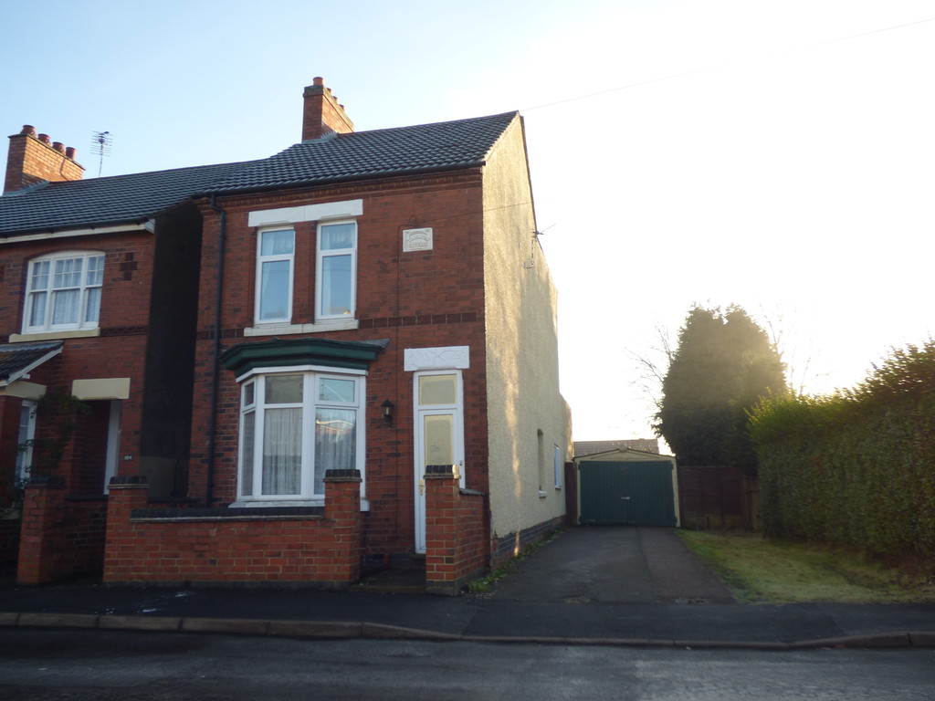 3 Bedrooms Detached House for sale in Bakewell Street, Coalville LE67
