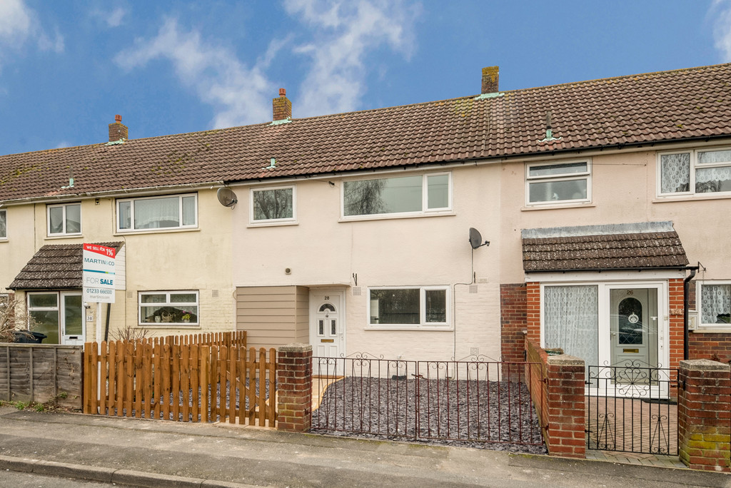 3 Bedrooms Terraced House for sale in Flaxpond, Ashford TN23