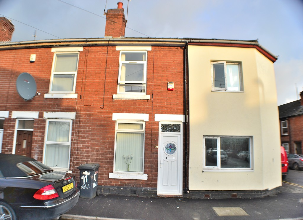 2 Bedrooms Terraced House for sale in Holcombe Street, Derby DE23