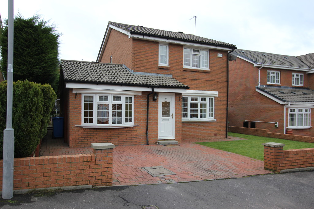 4 Bedrooms Detached House for sale in 29 Springhill Drive G41