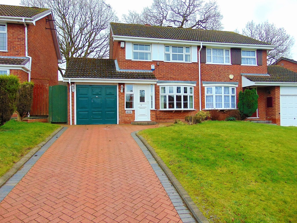 3 Bedrooms Semi Detached House for sale in Rea Valley Drive, West Heath B31