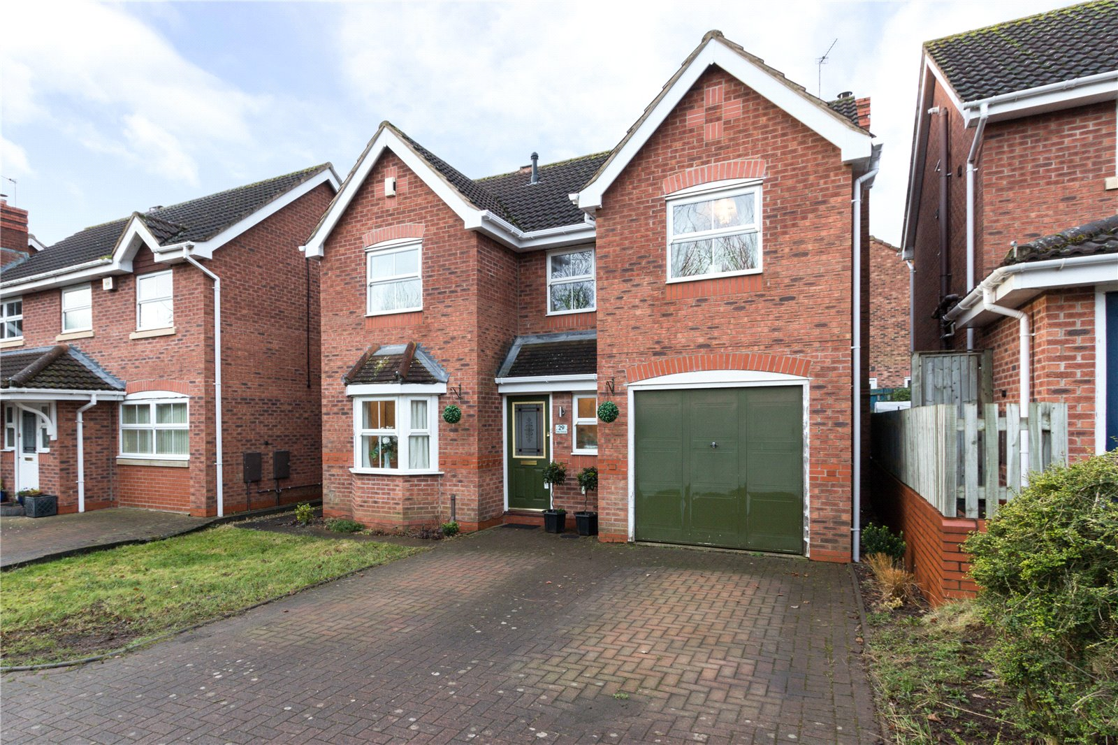 4 Bedrooms Detached House for sale in Lister Avenue Warndon Villages Worcester WR4