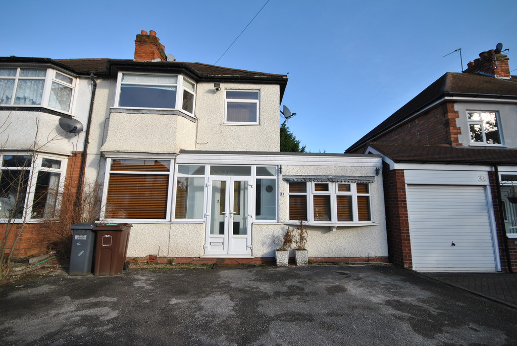 3 Bedrooms Semi Detached House for rent in Moat Lane, Solihull B91