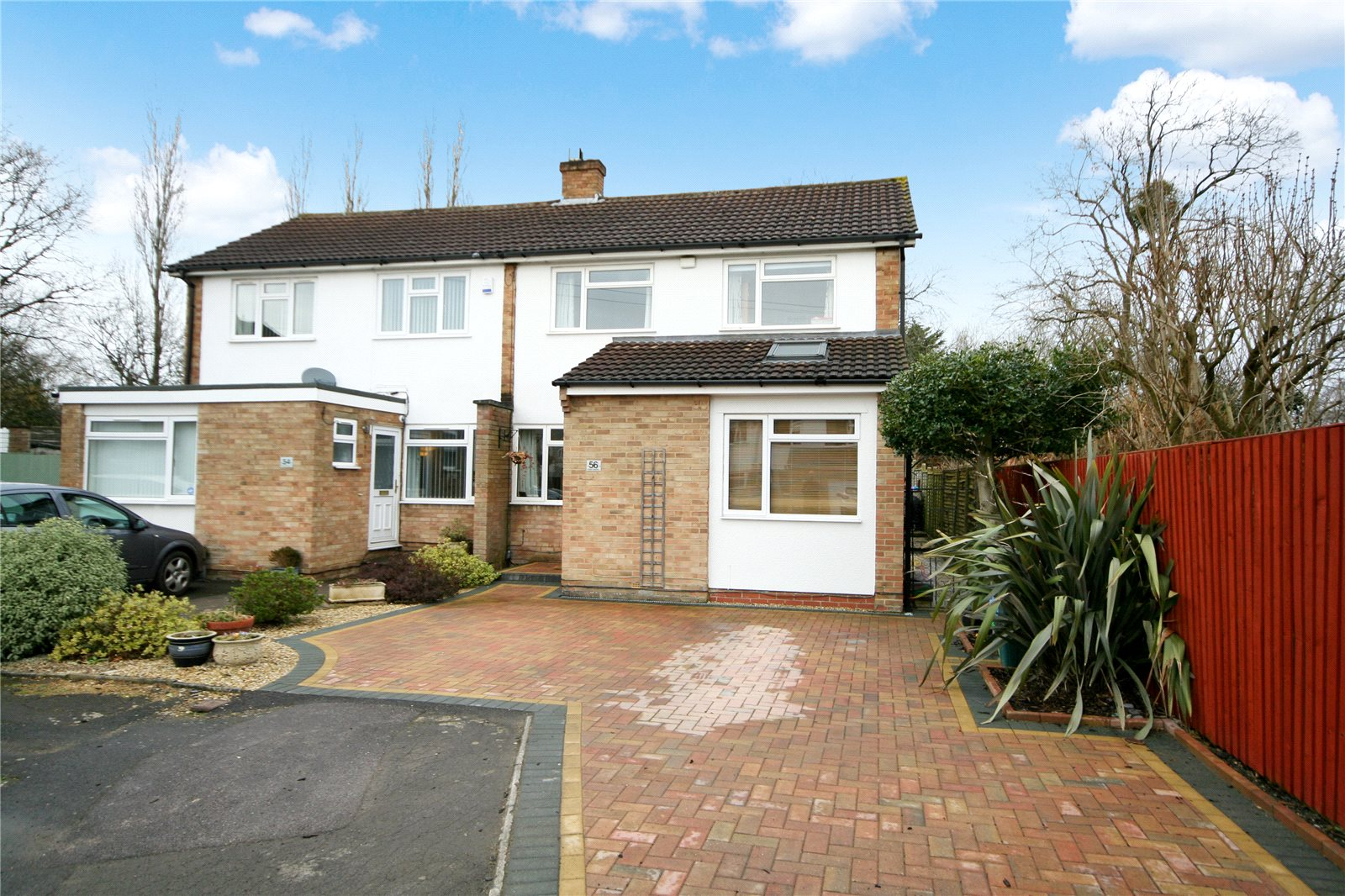 3 Bedrooms Semi Detached House for sale in Hollis Gardens Hatherley Cheltenham GL51