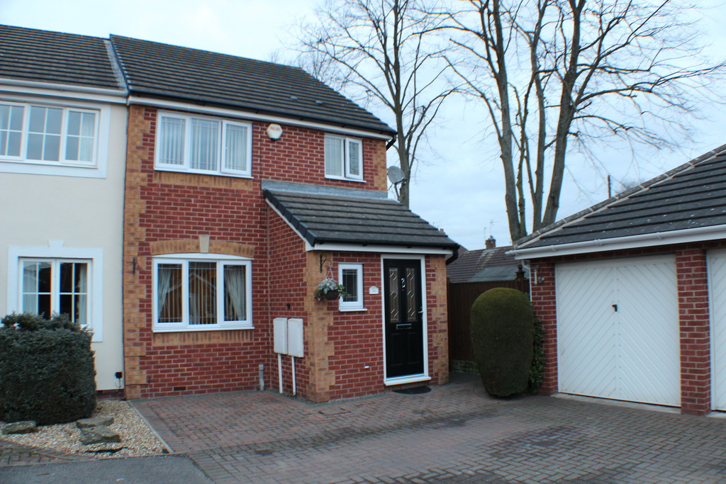 3 Bedrooms Semi Detached House for sale in Viyella Mews, Hucknall NG15